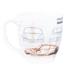 Cana ceramica Porsche 901, 400 ml, Multicolor