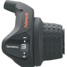 Maneta De Schimbator Shimano Nexus Sl-3S41E 3 viteze manson scurt cablu 2200Mm cPB Cod:ESL3S41EALS