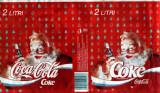 Etichete Coca Cola - Moş Crăciun, de colecţie