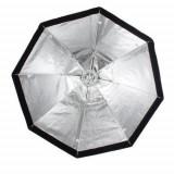 Softbox octogonal octobox 80cm cu deschidere tip umbrela montura Bowens, Generic