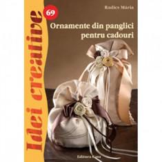 Ornamente din panglici pentru cadouri - Radics M?ria
