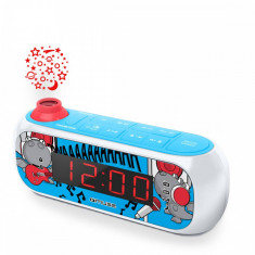 Radio cu ceas si holograma MUSE M-167 KDB