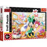 Puzzle Trefl 100 Minnie la salonul de infrumusetare