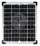 Panou solar fotovoltaic monocristalin 20W pentru alimentare iluminat, gard...
