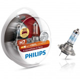 Set 2 becuri auto Philips H7 X-tremeVision G-force +130, 12 V, 55/60 W