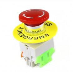 Intrerupator pentru oprirea de urgenta, GMO, LBCY090, cu buton de apasare