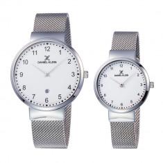 Set ceasuri pentru dama si barbati, Daniel Klein Pair, DK11977-1