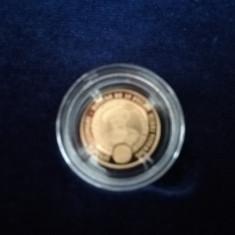 Istoria aurului – moneda din aur de 10 ducați Mihai Viteazul
