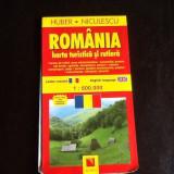 Romania HARTA TURISTICA SI RUTIERA