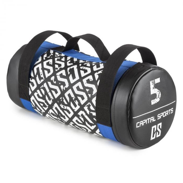 Capital Sports Ac Powerbag Sandbag 5 kg imitație de piele