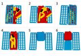 Dispozitiv de impachetat hainele in 6 pasi, Clothes Folder