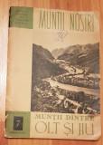Muntii dintre Olt si Jiu - ONT Carpati. Colectia Muntii Nostri + harta