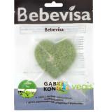 Burete Konjac cu Extract de Ceai Verde Inima 10g