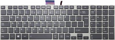 Tastatura Laptop, Toshiba, Satellite S850D, rama argintie foto