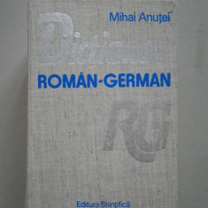 Dictionar roman - german (cel mai cuprinzator)