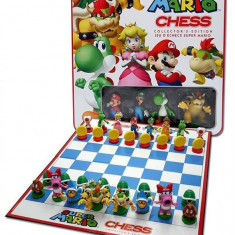 Joc Nintendo Mario Chess Collectors Edition In Tin