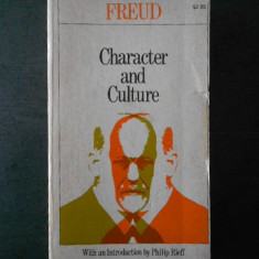 Freud - Character and Culture {limba engleza}