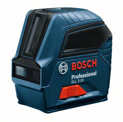 Bosch GLL 2-10 Nivela laser cu linii, 10m, precizie 0.3 mm/m foto