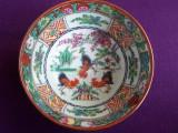 Bol portelan cultura asiatica, pictat manual marcaj,    K1