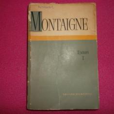 Montaigne Eseuri 1