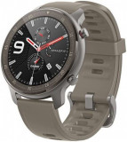 Smartwatch Huami Amazfit GTR, Display AMOLED 1.39inch, Bluetooth, GPS, Bratara Cauciuc 47mm, Android/iOS (Verde)