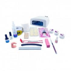 Kit de unghii cu gel si lampa UV 36W - pentru incepatori 2