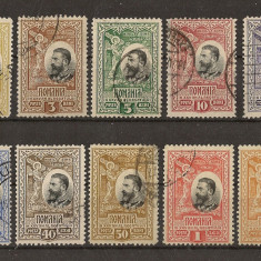 1906 L.P. 61 stampilat 25 Lei