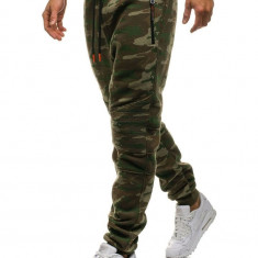 Pantaloni de trening camuflaj-multicolor Bolf 3771B-A