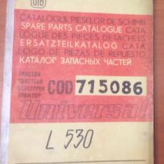 UTB Brasov Catalogul Pieselor De Schimb Tractor Universal L530