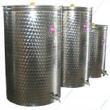Cisterna inox cu capac flotant eco fpn 300 L