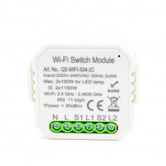 Aproape nou: Releu inteligent PNI SafeHome PT82C 2 canale, WiFi, 2x5A, comanda prin