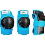 Set 3 Protecţii Basic Bleu