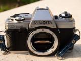 Vand Aparat foto SLR MINOLTA X-300+Obiectiv Sigma F.4.5 80-200mm, Konica Minolta