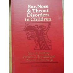 Ear, Nose & Throat Disorders In Children - John E. Bordley, Patrick E. Brookhouser, Gabriel F,522732