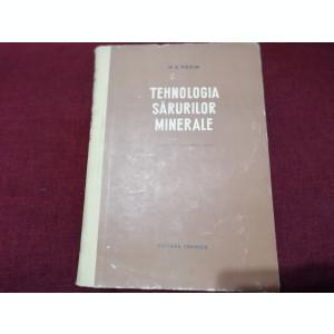 M E POZIN - TEHNOLOGIA SARURILOR MINERALE