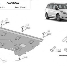 Scut motor metalic Ford Galaxy 2015-prezent