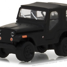 1970 Jeep CJ-5 Solid Pack - Black Bandit Series 19 1:64