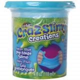 Borcanel cu Slime Neon Cra-Z-Slimy Albastru Neon