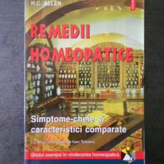 H. C. ALLEN - REMEDII HOMEOPATICE