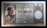 1000 LEI 1934 (REPLICA/REPRODUCERE) POLIMER (PLASTIC) PLACATA CU ARGINT 999‰
