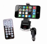 Cumpara ieftin Modulator FM AKAI FMT-8118BT cu suport telefon, Bluetooth, functieincarcare telefon si handsfree, telecomanda