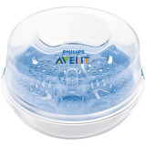 Sterilizator pentru microunde Avent SCF281/03, 200 ml, fara BPA