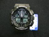 Ceas Sport Casio G-SHOCK GA-100 Black-NOU ! NEGRU -CALITATEA 1- !!!!