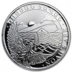 Moneda argint 999 lingou , Arca lui Noe 1/2 uncie = 15,5 grame