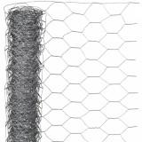 Nature Plasă din sârmă, 1 x 5 m, oțel galvanizat, 13 mm, hexagonal