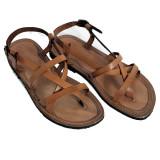 Cumpara ieftin Sandale din Piele ptr Barbati Coniac Italia Umberto