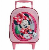 Troler 3D Minnie Mouse, 38.5 x 28 x 13.5 cm