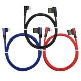 1 cablu de date USB pentru Android, cablu de incarcare rapida pentru telefoanele mobile Huawei, Android