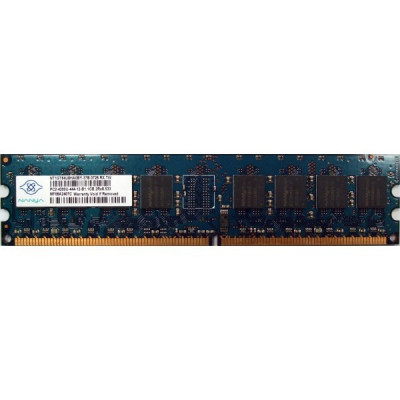 Memorie Server Nanya 1 GB DDR2 PC2-4200U-444-12-B1 foto