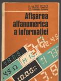 C8817 AFISAREA ALFANUMERICA A INFORMATIEI - EMIL SOFRAN
